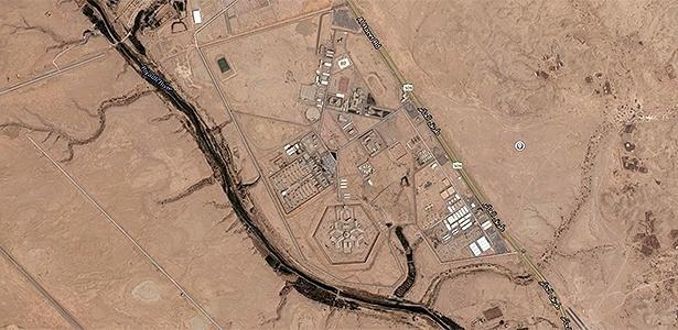 Prisão saudita de Al-Ha'ir vista no Google Earth; imagens internas não são permitidas