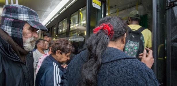 Cerca de 1,5 milhão de pessoas foram atingidas com paralisação dos terminais em São Paulo
