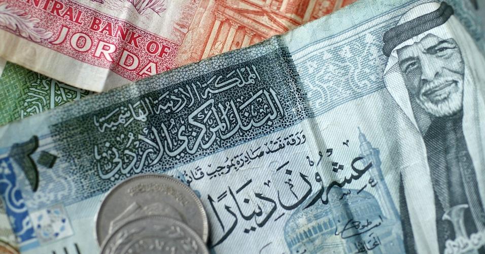 dinar, moeda da jordânia