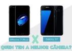 iPhone 7 Plus x Galaxy S7: quem tem a melhor câmera? (Foto: UOL)