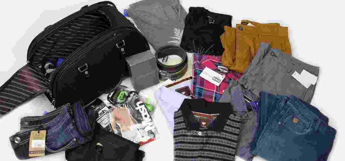 O site Upperbag oferece um serviço de personal stylist e delivery de roupas - Divulgação