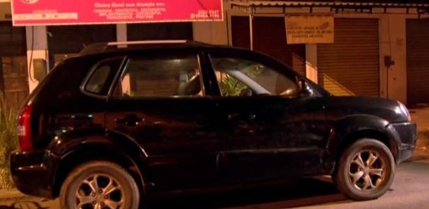 Veículo roubado neste mês com uma criança dentro em Santa Cruz, zona oeste