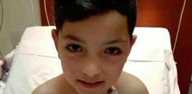 Alejo Ferrero, 8 anos, enfrentou internações para ajudar seu pai com leucemia