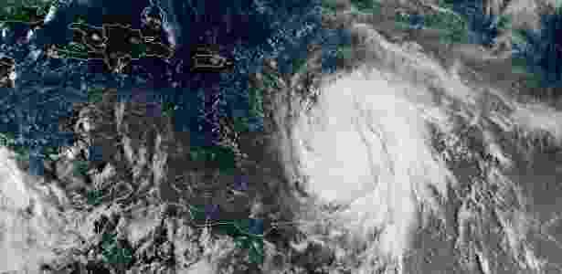 Furacao_Maria - NOAA/AFP - NOAA/AFP