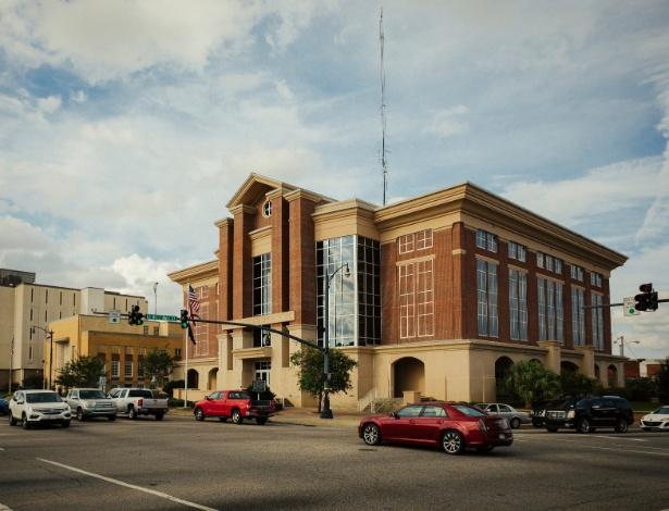 O Tribunal do Condado de Houston, em Dothan