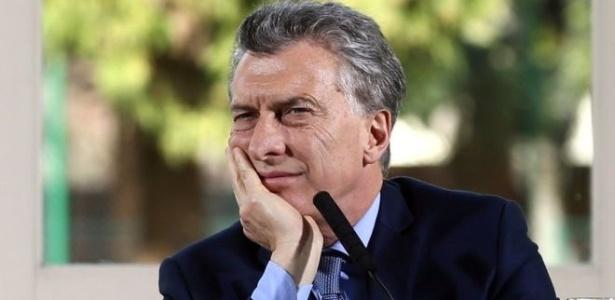Mauricio Macri, presidente da Argentina