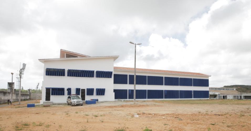 26.out.2017 -- Pavilhão do presídio estadual de Alcaçuz, Nísia Floresta (RN)