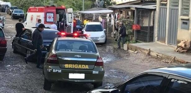 Local do assassinato de Juliana Fonseca Prestes, no bairro Mariani, em Caxias do Sul