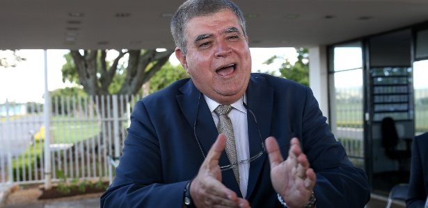 14.fev.2018 - O ministro da Secretaria de Governo, Carlos Marun (MDB)