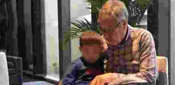 Avós paternos das crianças querem levá-los para o Reino Unido - Arquivo pessoal via BBC - Arquivo pessoal via BBC