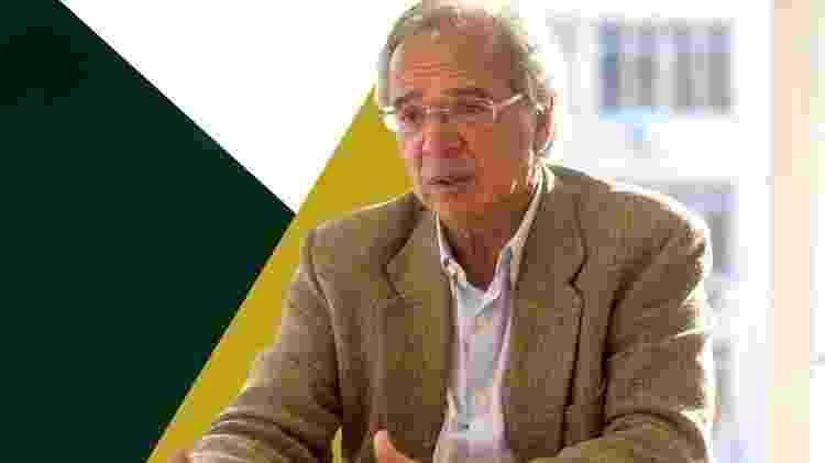 Paulo Guedes, o guru econômico de Jair Bolsonaro - Daniel Ramalho/AFP