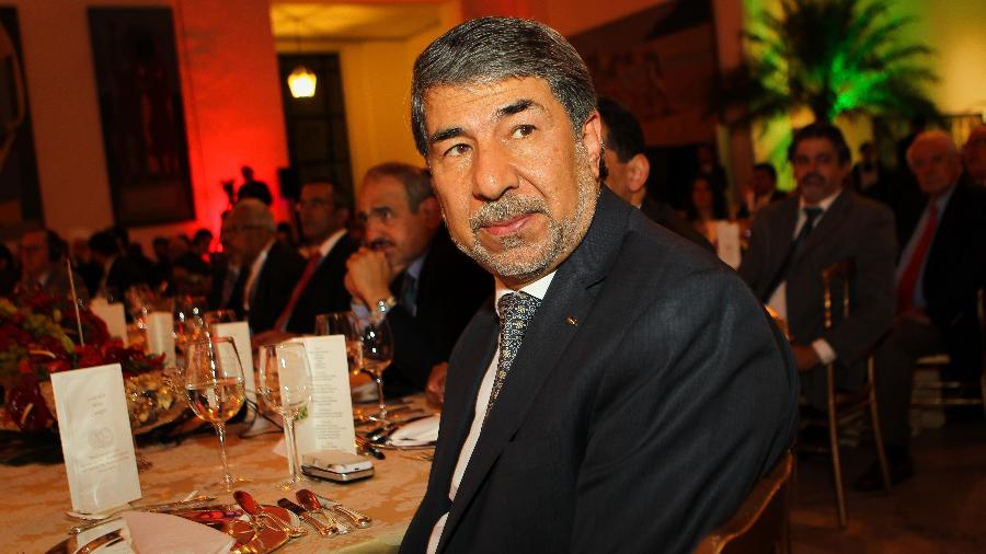 21.out.2013 - O diplomata Ibrahim Alzeben, embaixador palestino em Brasília  - Zanone Fraissat/Folhapress