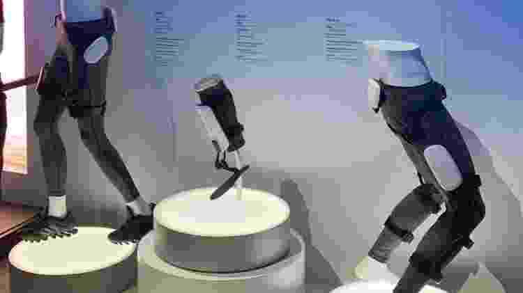 A linha GEMS de exoesqueletos da Samsung - Bruna Souza Cruz/UOL