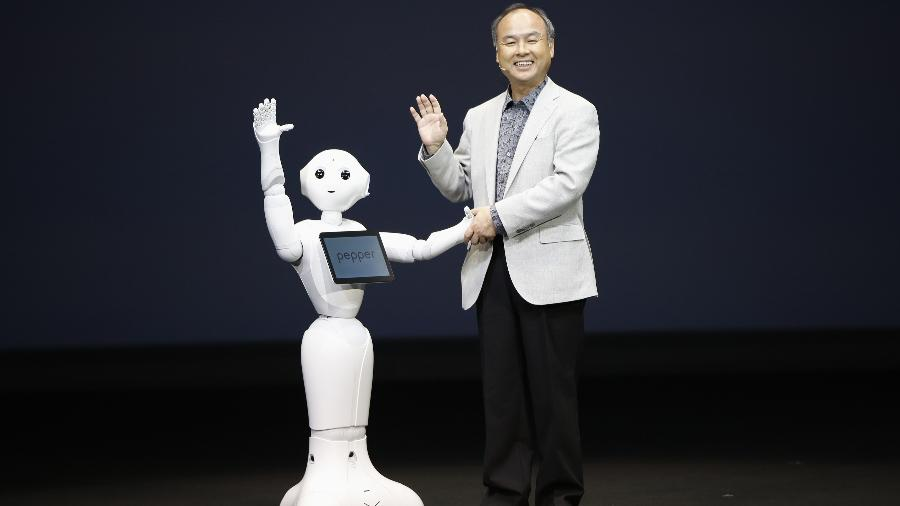 Masayoshi Son é o fundador e presidente-executivo do SoftBank Group - Issei Kato/Reuters