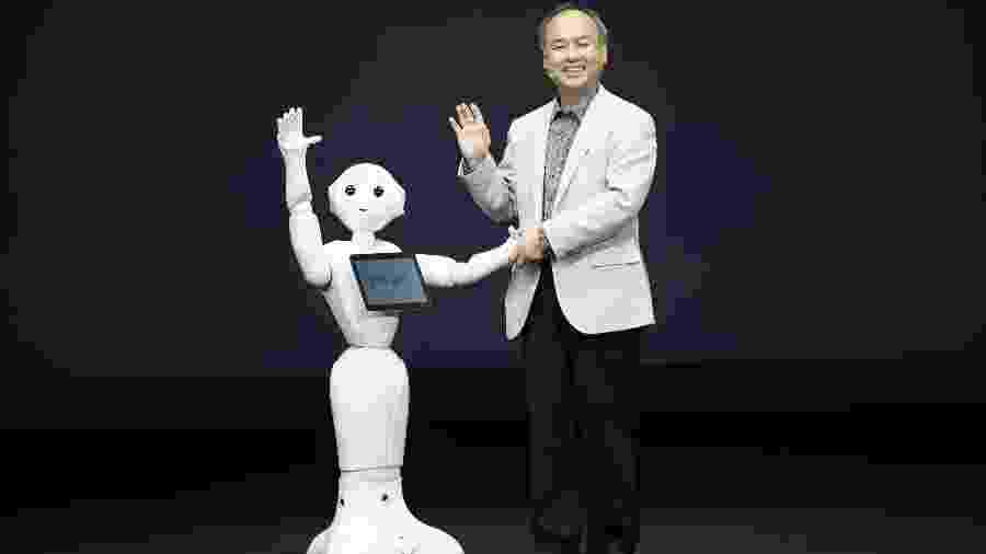 Masayoshi Son é o fundador e presidente-executivo do SoftBank Group - Issei Kato/Reuters