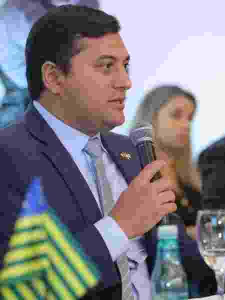 Governador do Amazonas, Wilson Lima (PSC), descartou novo lockdown - Reprodução - 23.abr.2019/Facebook/WilsonLimaAM