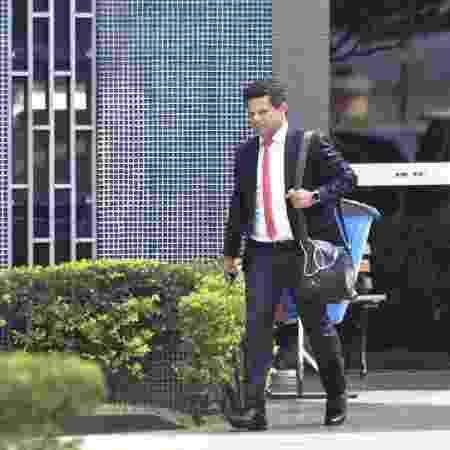 O advogado Ariovaldo Moreira, que defende Gustavo Henrique Elias Santos, preso sob acusação de invadir o celular do ministro Sergio Moro - Mateus Bonomi/Folhapress