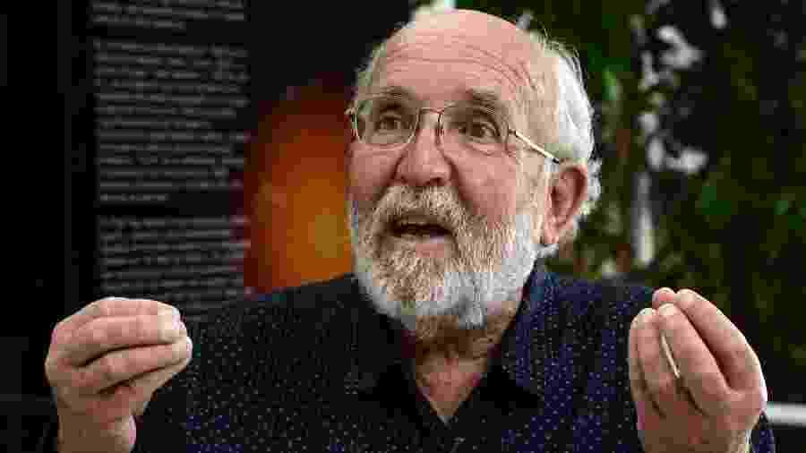 Michel Mayor, ganhador do Nobel da Física em 2019 - Javier Soriano/AFP