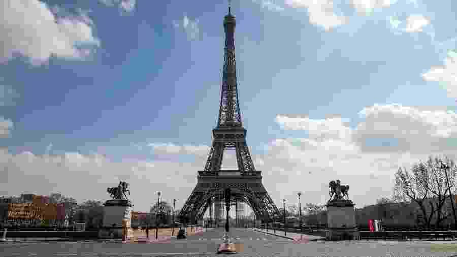 Terraço da Torre Eiffel foi reaberto ao público em 25 de junho - Marc Piasecki/Getty Images