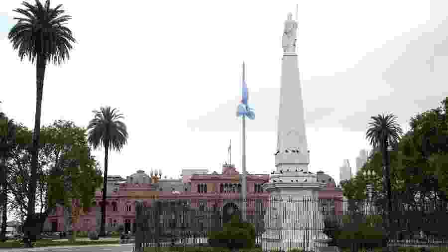 Buenos Aires, na Argentina, durante a pandemia do novo coronavírus - Lalo Yasky/Getty Images