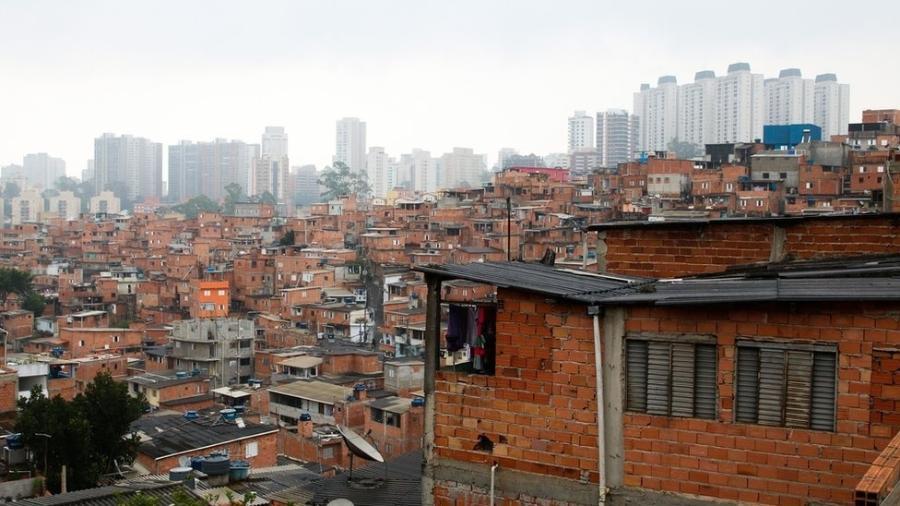 Comunidade de Paraisópolis, na zona sul da cidade de São Paulo - Rovena Rosa/Agência Brasil