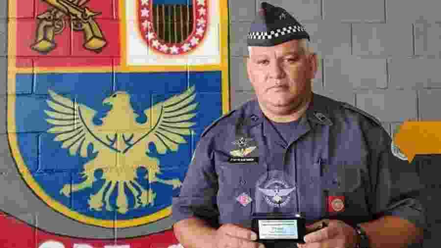 Segundo-sargento Alan Fabrício Ferreira após ficar em 1º lugar em curso - Arquivo Pessoal
