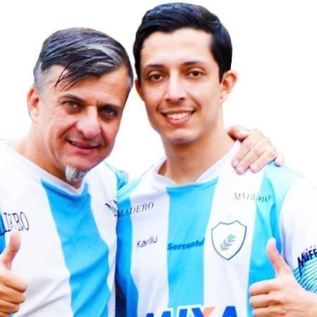 Boca Aberta e Boca Aberta Jr., ambos do Pros, chapa que disputa a Prefeitura de Londrina (PR) - Divulgação