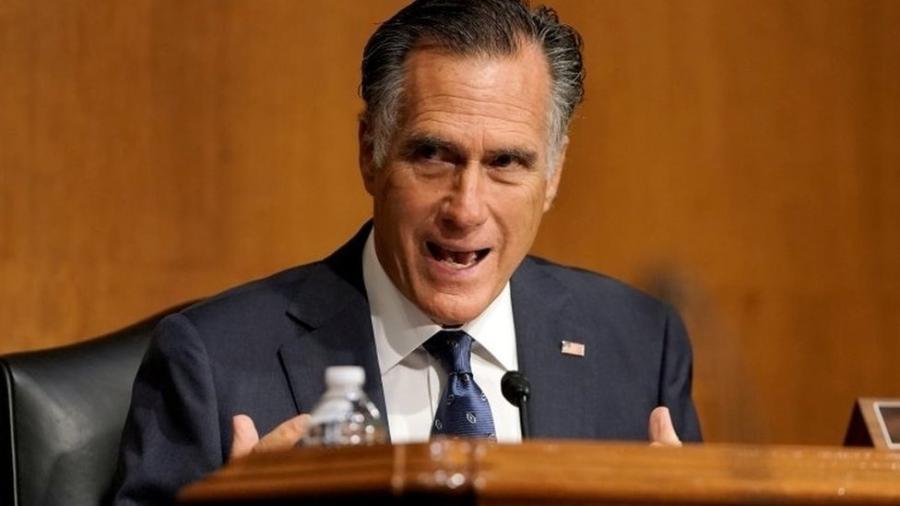 O senador Mitt Romney tem um histórico de desavenças com Trump - Reuters