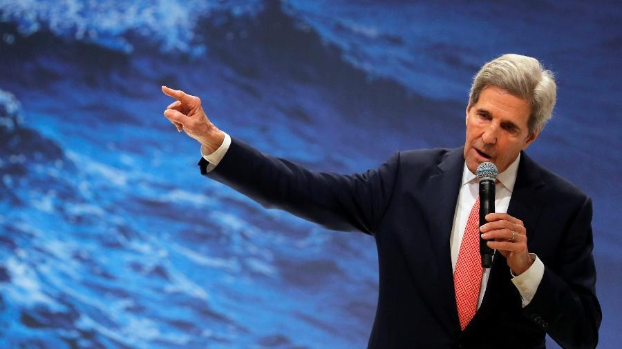 John Kerry, ex- secretário de Estados dos EUA e indicado por Biden para enviado especial do Meio Ambiente - Susana Vera/Reuters