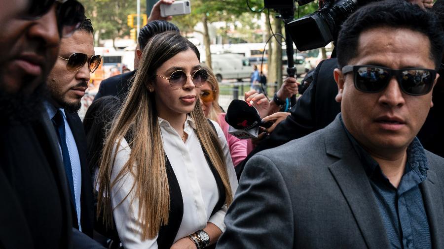 Emma Coronel Aispuro, 31, foi presa no Aeroporto Internacional de Dulles - Drew Angerer/Getty Images