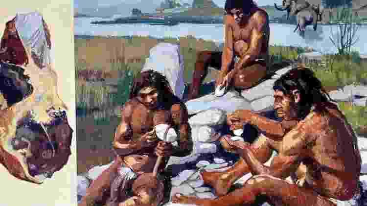 É possível que os neandertais tenham tido um sistema de comunicação verbal parecido com o dos humanos - Getty Images - Getty Images