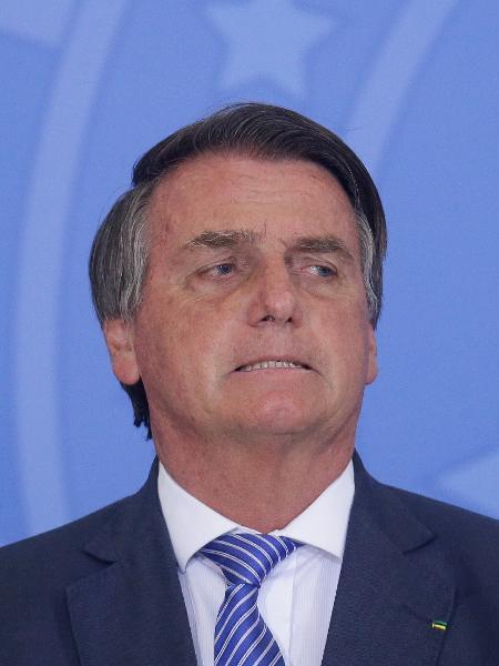 O presidente Jair Bolsonaro participa no Palácio do Planalto - Dida Sampaio/Estadão Conteúdo