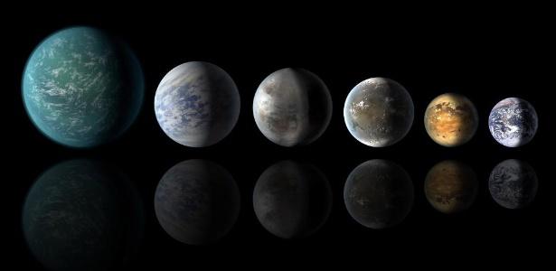 Embora seja comum dizer que os planetas são redondos, isso não é exatamente verdade - JPL-Caltech/Ames/Nasa