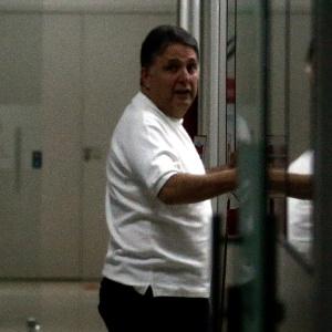 16.nov.2016 - O ex-governador do Rio de Janeiro Anthony Garotinho (PR) foi levado para a sede da Polícia Federal, no centro do Rio, após ter sido preso