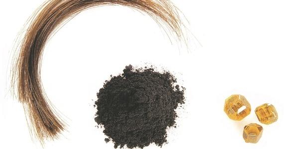 Todo o processo da criação do diamante: cabelo transformado em grafite, diamante e lapidação final