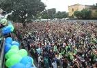 Católicos confeccionam tapetes de rua para celebrar Corpus Christi - Gel Lima/Código19/Estadão Conteúdo