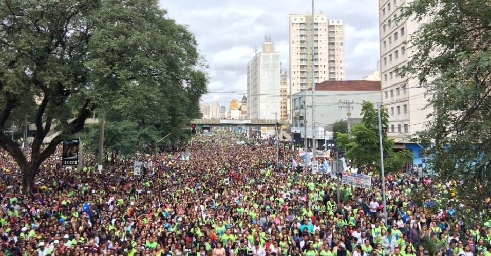 Marcha para Jesus em São Paulo
