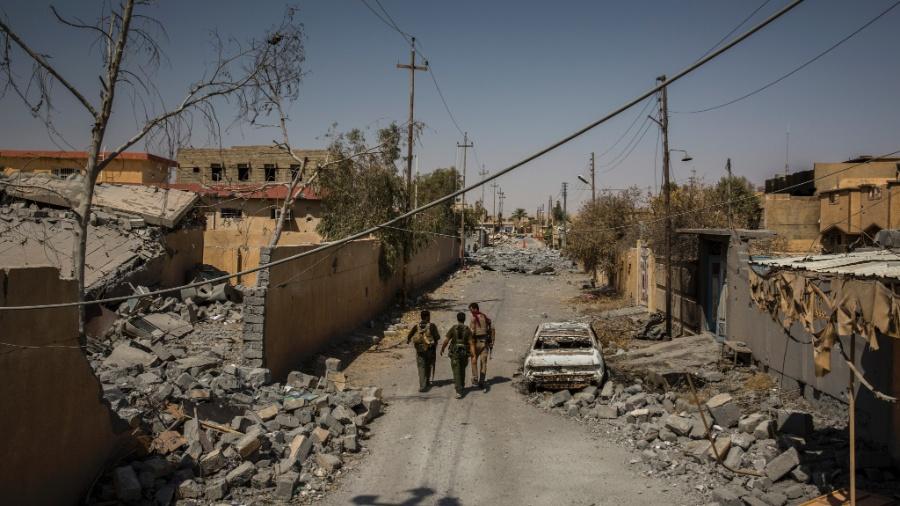 Tal Afar, no Iraque, foi dominada durante anos pelo Estado Islâmico - IVOR PRICKETT/NYT