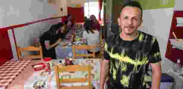 O restaurante do ex-encanador José Silvane Almeida hoje tem oito funcionárias  - Diego Padgurschi - Diego Padgurschi