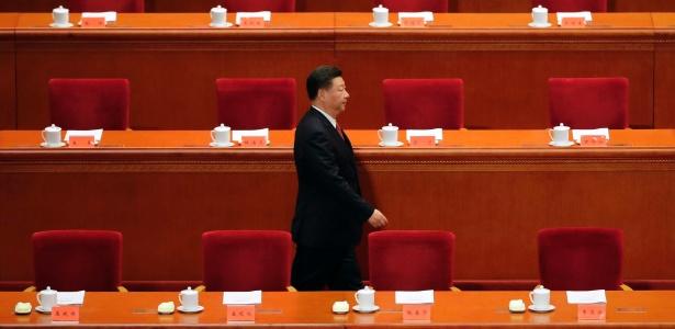 O presidente da China, Xi Jinping, em cerimônia em Pequim - Andy Wong/AFP/Getty Images/NYT
