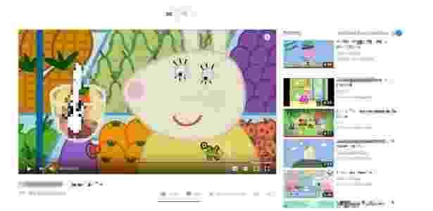 1.fev.2018 - Vídeos que imitam desenhos infantis apresentam conteúdo sexual e violência - Reprodução/YouTube - Reprodução/YouTube