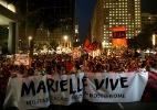Atos marcam o sétimo dia da morte de Marielle e seu motorista - Wilton Junior/Estadão Conteúdo