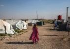 Desprezadas por seus países, mulheres e crianças do Estado Islâmico estão confinadas na Síria - Ivor Prickett/The New York Times
