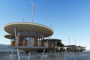 Por que ricaços querem viver em ecovila tecnológica feita em ilha flutuante (Foto: Divulgação)