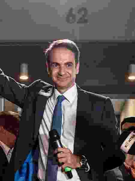 O primeiro-ministro grego Kyriakos Mitsotakis - Louisa Gouliamaki/AFP
