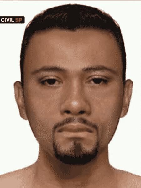 Polícia Civil divulga retrato falado de suspeito de matar motorista de aplicativo em Diadema (SP) - Polícia Civil/Divulgação