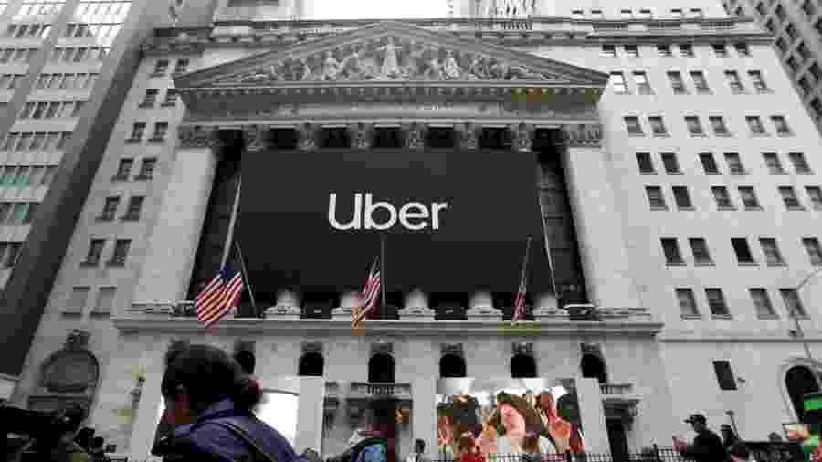 Uber estreou na bolsa de Nova York em maio deste ano com valor de mercado de US$ 82,4 bilhões - Andrew Kelly/Reuters