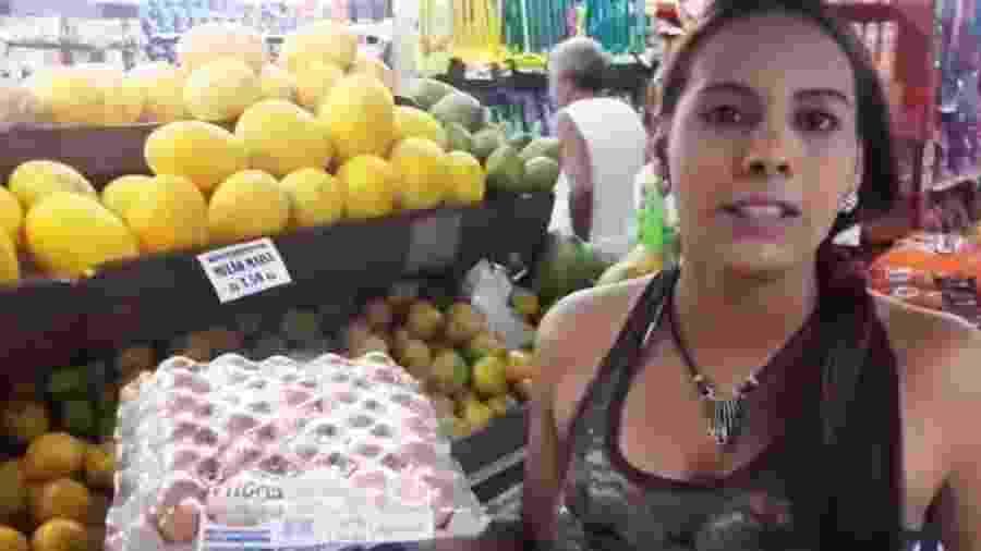 Victoria mostra nos vídeos como é o dia a dia no Brasil - Reprodução/Vicky Marquez