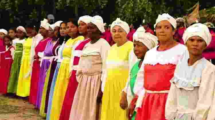 Moradoras de Tejucupapo mantém a tradição viva encenando a história da batalha - Grupo Cultural Heroínas de Tejucupapo/Divulgação