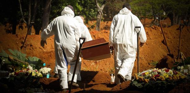Pandemia no país | Brasil chega a 98.644 mortes com 1.226 novos óbitos em 24 horas